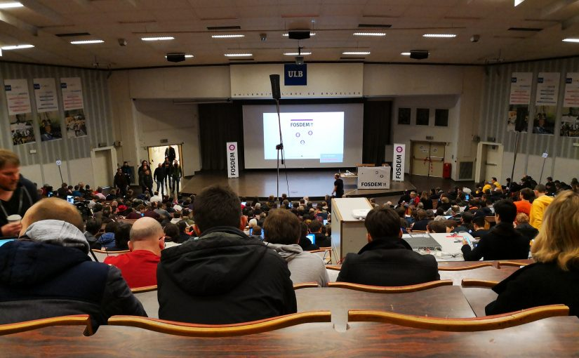 image from Fosdem 2018